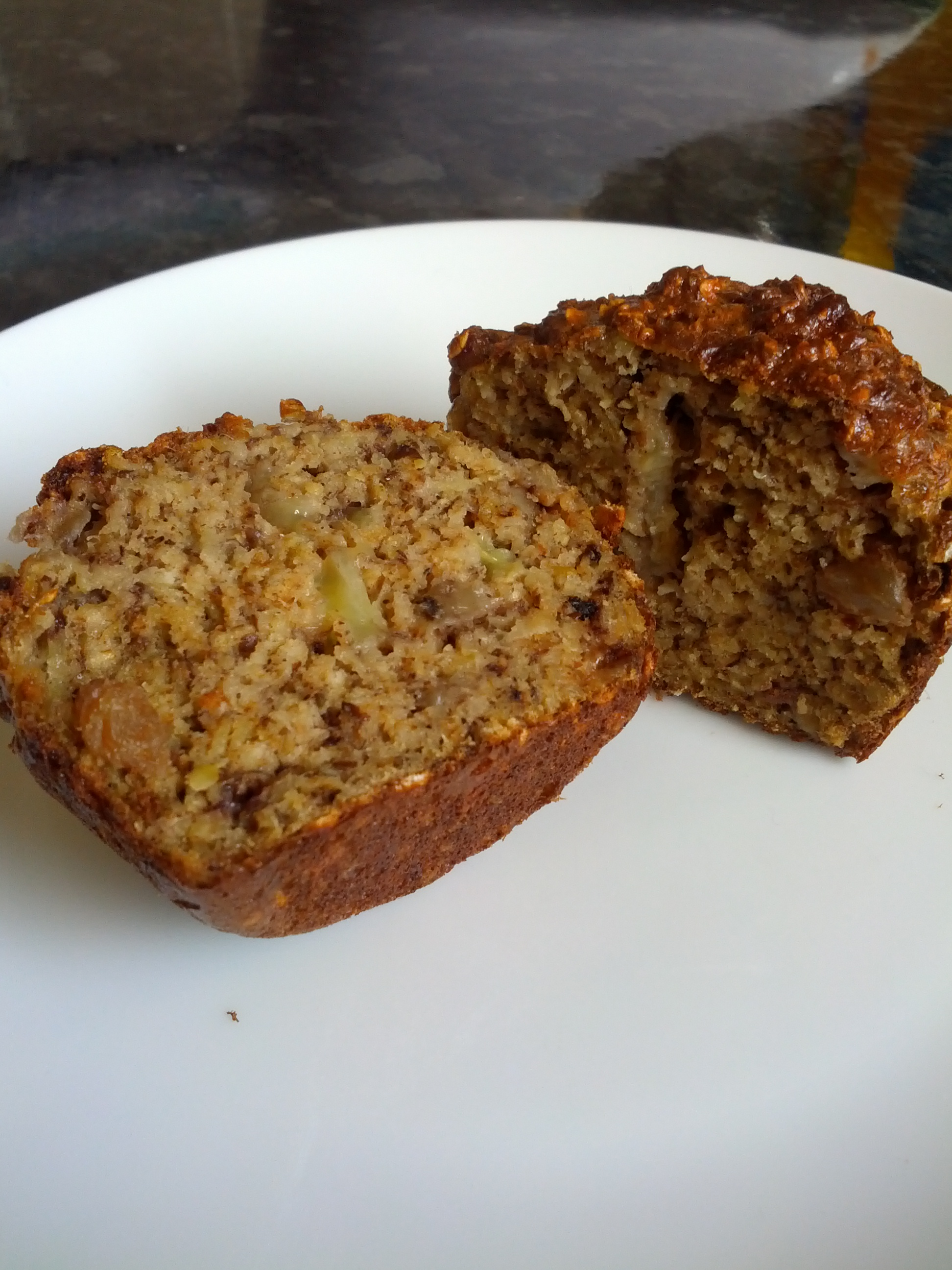 Banana Nut Protein Muffin