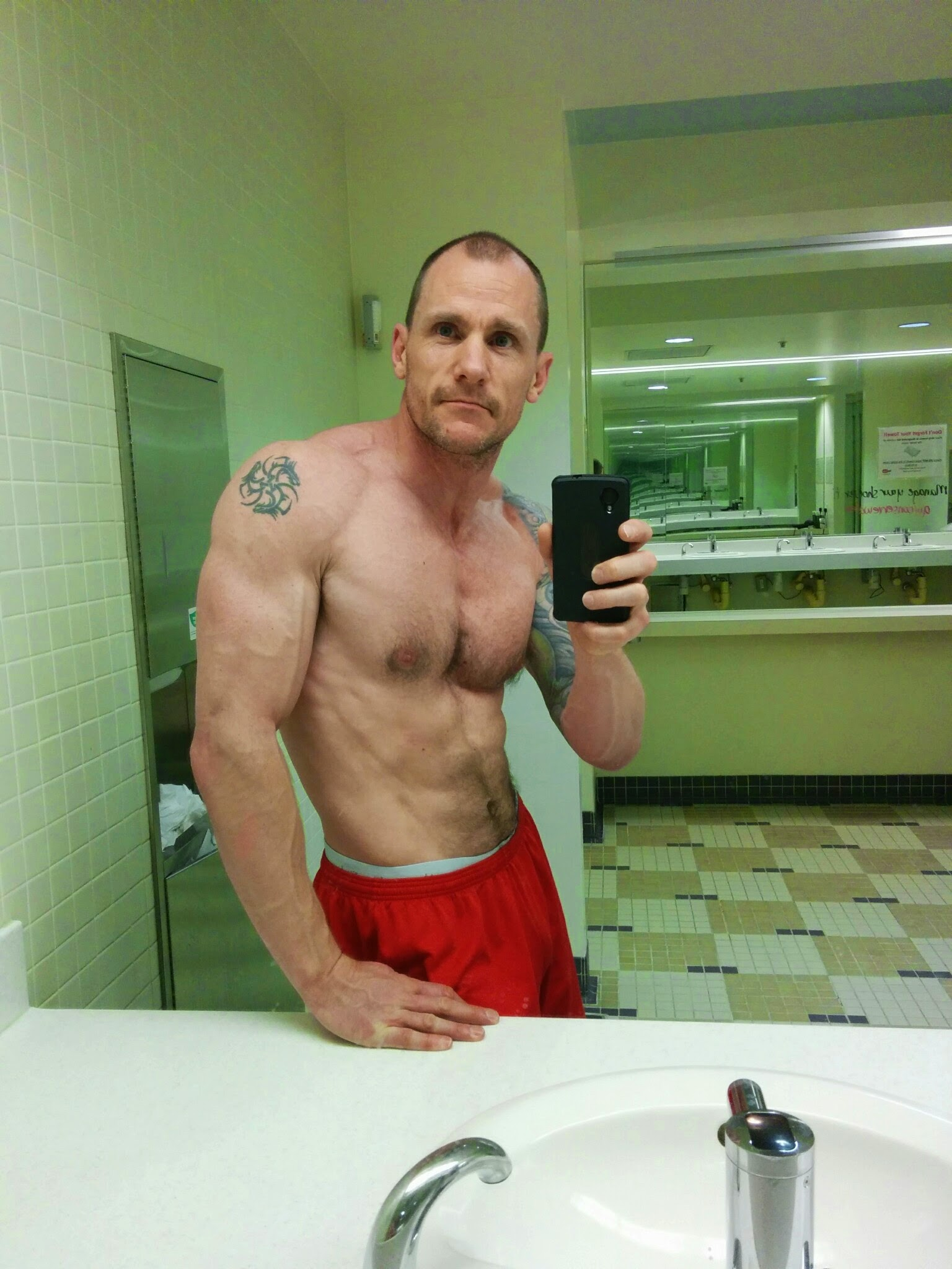 Me at 173lb and 10% body fat